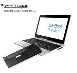 Image 4 - KingSener OD06XL Batteria Del Computer Portatile per HP Elitebook Revolve 810 G1 G2 G3 Tablet PC HSTNN IB4F 698750 171 698750 1C1 HSTNN W91C