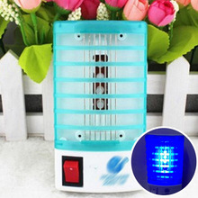 Electric Night Lamp Lights 220V 110V Insect Mosquito Repeller Mini Mosquito Lamp Killing Fly Bug Insect Trap Killer EU US Socket