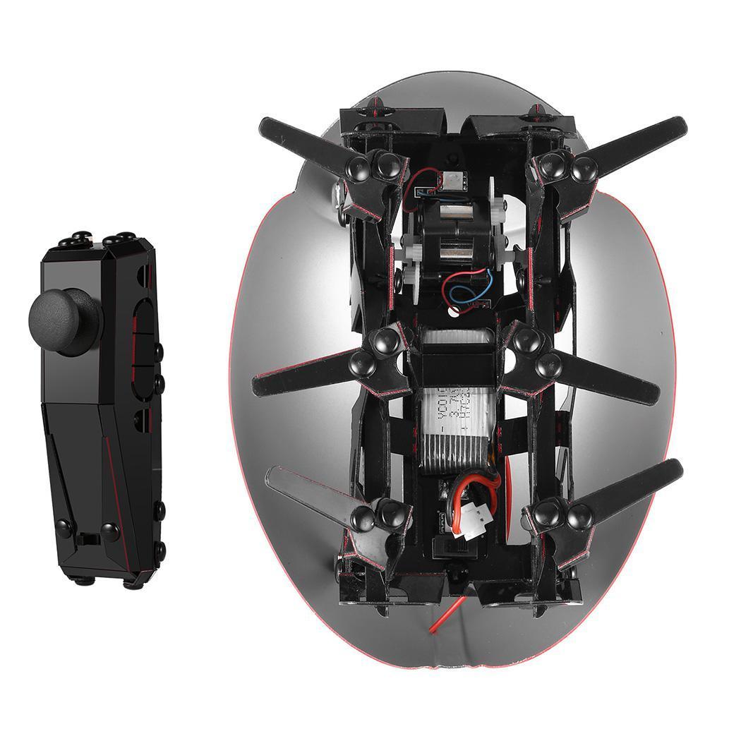 Télécommande Smart coccinelle insecte Robot jouet Robot à monter soi-même Kit 30 min 1.6 m/s 3.7 V 100 mAh Li (inclus) 10 m 30 min 7 +