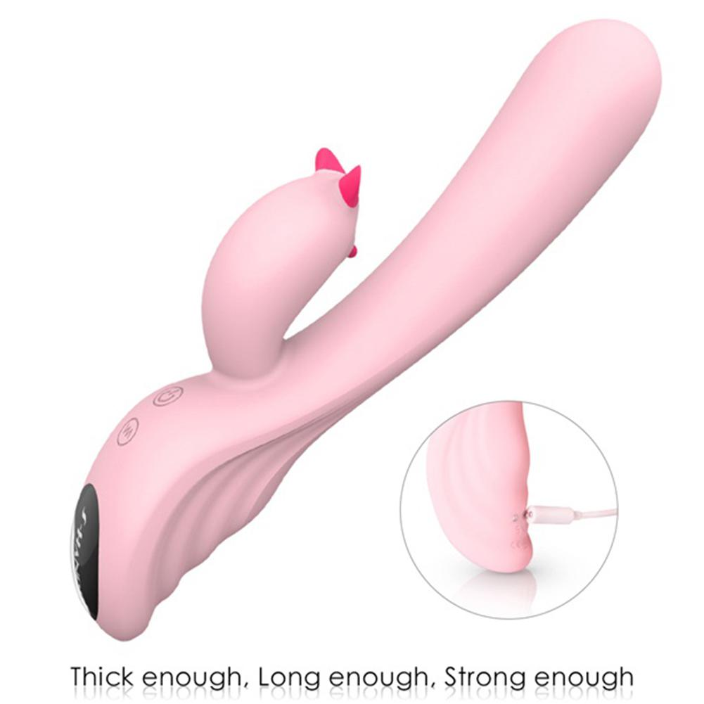 RABBITOW Vibrator Multi-Speed Waterproof G Spot AV Wand Magic Wand Sex Toys for WomanRABBITOW Vibrator Multi-Speed Waterproof G Spot AV Wand Magic Wand Sex Toys for Woman