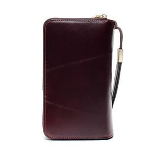 Image 4 - Business Clutch Bag Detachable Wristband Men Wallet Slidable Phone Holder Outside The Multi Card Design Multi Function Bag