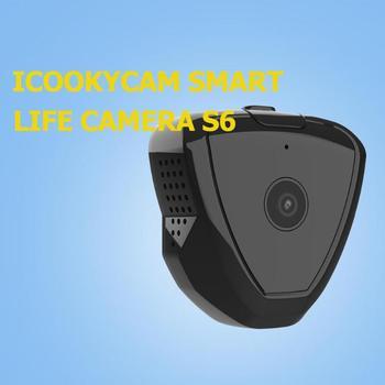 S6 Mini WiFi IP Camera Motion Sensor 1280x720P Night Vision Magnetic Clip Web Camera USB 2.0 300mAh Camera Support 64G TF Card 5