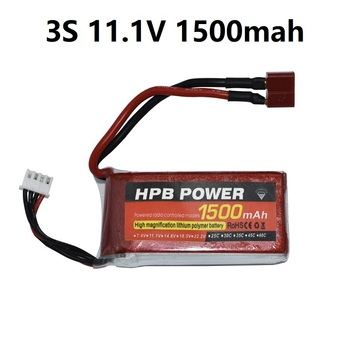 3S 11.1V 1500mAh 35C Lipo Battery 3S LiPo Battery 11.1V Lithium-Polymer Battery For RC Helicopters Car Boat RC Drone Battery HPB 1 pcs lion power lipo battery 2s 7 4v 1500mah 25c max 35c fast charging rc lipo battery for rc boat helicopter