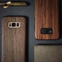 KISSCASE Natural Wooden Texture Phone Case For Sams