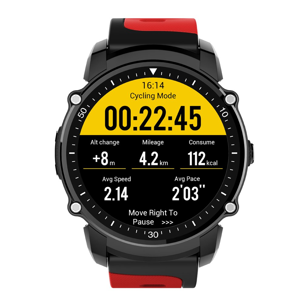 FFYY-Sports Smart Watch Android 5.0 And Ios 8.0,Ip68 Waterproof Heart Rate Monitoring,Pedometer,Gps Information Reminder SportFFYY-Sports Smart Watch Android 5.0 And Ios 8.0,Ip68 Waterproof Heart Rate Monitoring,Pedometer,Gps Information Reminder Sport