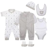 New Children Infant Clothing Newborn Clothes Baby Girl Clothes Baby Boy Clothes Fashion Trendy Comfortable Baby Clothing D4