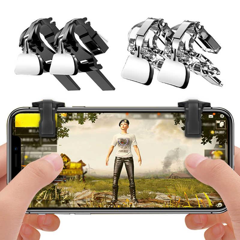 1 пара для PUBG мобильной игры огонь Кнопка Aim ключ смартфон игровой триггер L1 R1 шутер контроллер