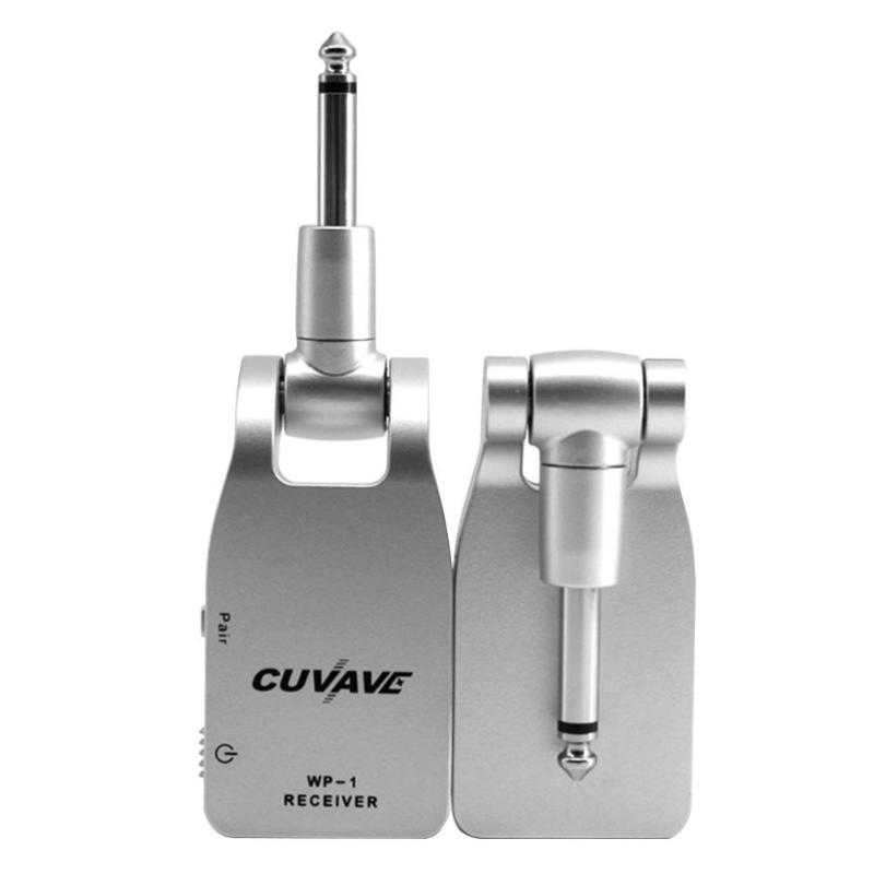 24-peu Sans Fil Guitare Système Émetteur USB Rechargeable Électrique Guitare Émetteur Récepteur Ensemble 30 mètres Transmission Gamme