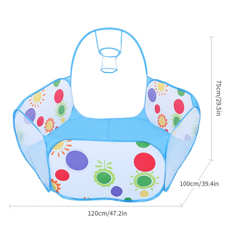 Tents Outdoor Inflatable Ball Pool Boys Girls Kids Children Ball Pit Indoor Play Tent Game House Ocean Pool Toy Birthday Gift in Toy Tents from Toys Hobbies