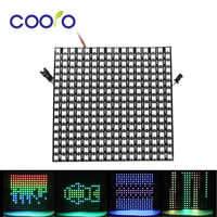 WS2812B RGB Led Panel Chip Individually Addressable Digital LED Module 8x8/8x32/16x16 Pixels WS2812 Flexible Pixel Panel Screen