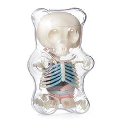 4D MASTER STEM Anatomie Model Gummi Beer Skelet Anime Figuur Volwassenen Kinderen Geschenken Wetenschap Animal Model