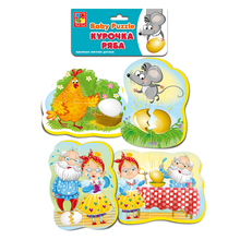 Мягкие пазлы Baby puzzle Vladi Toys Сказки