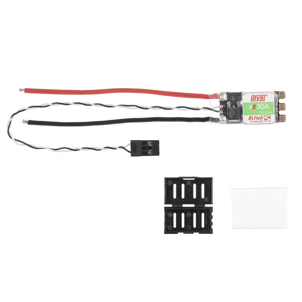 DYS XS30A alta calidad Micro CES 30A 3-6 S EFM8BB21 50 MHz MCU soporte del Firmware Oneshot42 Multishot para FPV Drone Multirotor