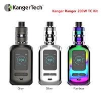 200W Kanger Ranger TC Vape Kit w/ 200W TC Box MOD & 3.8ml RANGER TANK Atomizr & 2 Mesh Coils KangerTech Electronic Cigarette Kit