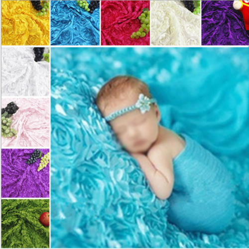 Soft Mat Blanket Rug Baby Photo Props Backdrop for Newborn Photography Lovely