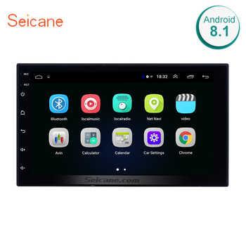 Seicane Car Multimedia player For Universal Nissan VW Toyota Kia rio Hyundai Suzuki Honda 2din Android 8.1 7 Inch GPS Navigation - DISCOUNT ITEM  50 OFF Automobiles & Motorcycles