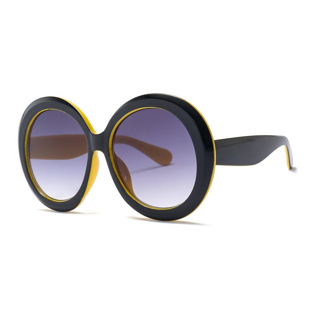 48f54b51302ea3 Vente Benesse haute qualité pas cher ronde lunettes de soleil pour Hommes  Femmes lunettes de soleil rondes femmes grosses lunettes de soleil marque  de mode ...