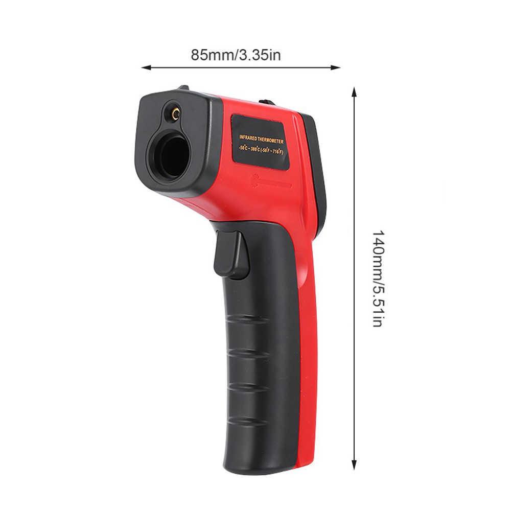 GM320 цифровой лазерный ИК инфракрасный термометр с жидкокристаллическим дисплеем Температура прибор не контактные Термометры Meassuring