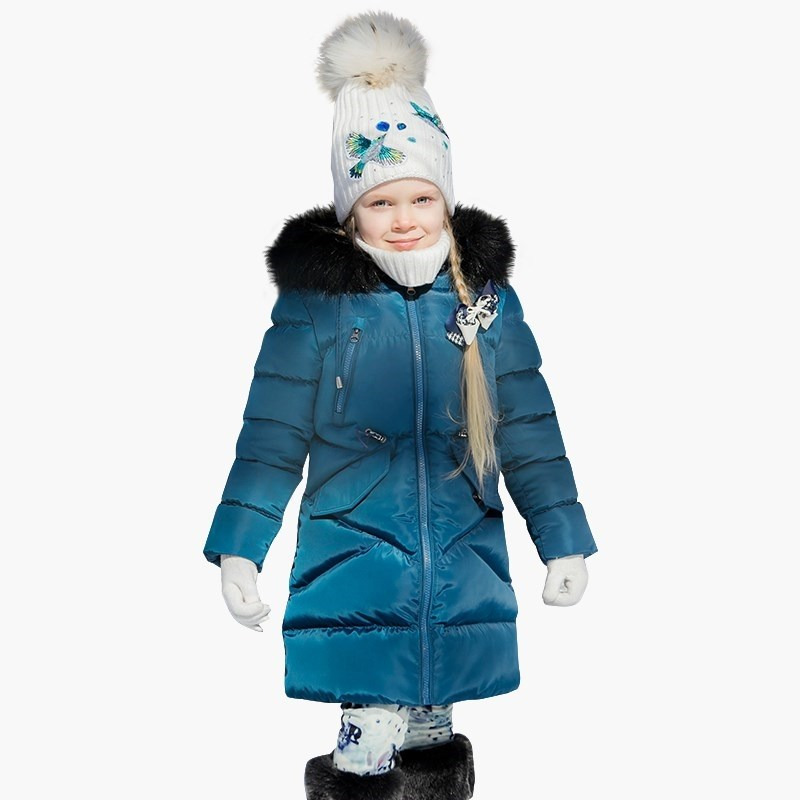 Down & Parkas Sweet Berry Coat sewing for girls children clothing kid clothes a15 girls down jacket 2017 new cold winter thick fur hooded long parkas big girl down jakcet coat teens outerwear overcoat 12 14