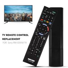 ABS أسود للتحكم عن بعد لاستبدال سوني RM ED058 التلفزيون