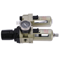 Top Quality Air Compressor Filter Regulator Gauge Trap Oil Water Aluminum Alloy Mayitr Hot Selling