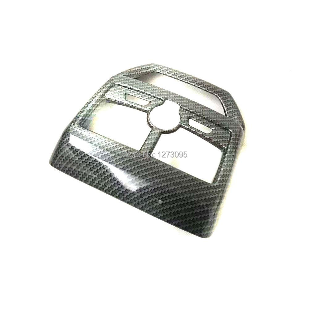 For Peugeot 5008 GT 2017 2018 ABS Inner Air Conditioning AC Vents Outlet Trim Cover Car Styling Accessories