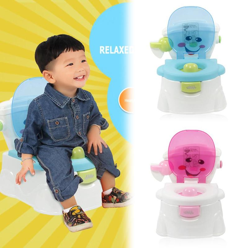 Portable Baby Potty Baby Multifunction Toilet Seat Girls Boy Training Pot Comfortable Baby Toilet Seat Cartoon Cute Pot