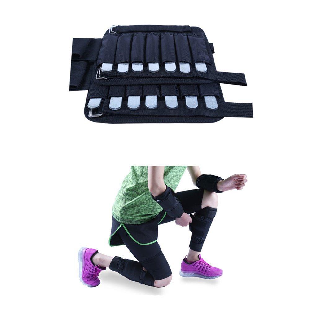 leg) black 1-5kg) YUIO Adjustable Arm//Ankle Legging training Equipment Weights Sandbag 1-20kg Weight Training For Boxing GYM Running