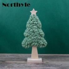 цена на Original Northyle BS163251 Fantasy fleece christmas tree wool xmas tree figurine christmas gift christmas tree decoration