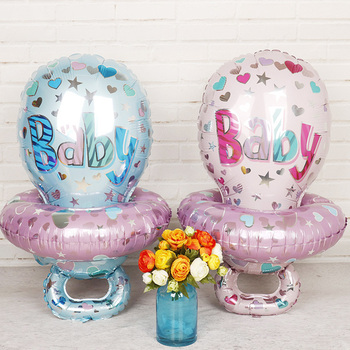 1 zestaw 85*48cm duże dziecko pielęgniarka sutek z balonów foliowych różowy niebieski dziewczynka chłopiec dekoracje na imprezę urodzinową Baby shower zabawki na imprezę tanie i dobre opinie i BALON List Cartoon Rysunek Folia aluminiowa Płeć Reveal Ślub Birthday party Ślub i Zaręczyny Dzień dziecka Walentynki