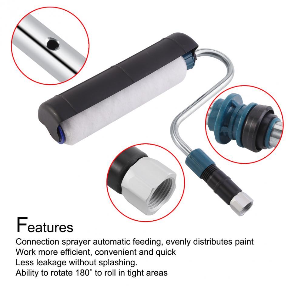 High Pressure Spray Equipment Professinonal 180 Degree Rotating Roller Painting Tool Paint Sprayer Roller A25