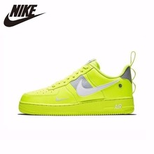 NIKE AF1 New Arrival AIR FORCE 1'07 Breathable Utility Men Running Shoes Low Comfortable Sneakers #AJ7747 цена