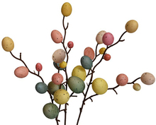 3Pcs Creative Branch With Painting Eggs Egg Tree Easter Decor Home Decoration Supplies