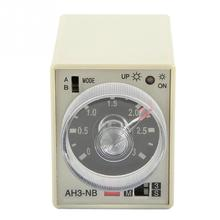 цена на AH3-NB Power On Delay Timer Relay 3S-30M Knob Control Time Relay AC 220V Delay Timer Relay