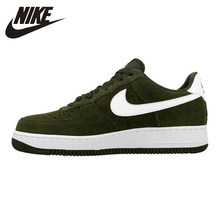 Nike Air Force1 Men Skateboarding Shoes Wear Resistant Breathable Lightweight Outdoor Shoes 820266-301(China)