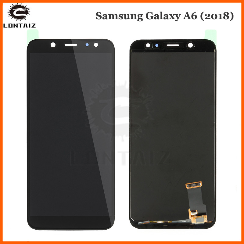 For <font><b>SAMSUNG</b></font> <font><b>Galaxy</b></font> <font><b>A6</b></font> 2018 A600F A600FN LCD <font><b>Display</b></font> with Touch Screen Digitizer Assembly image