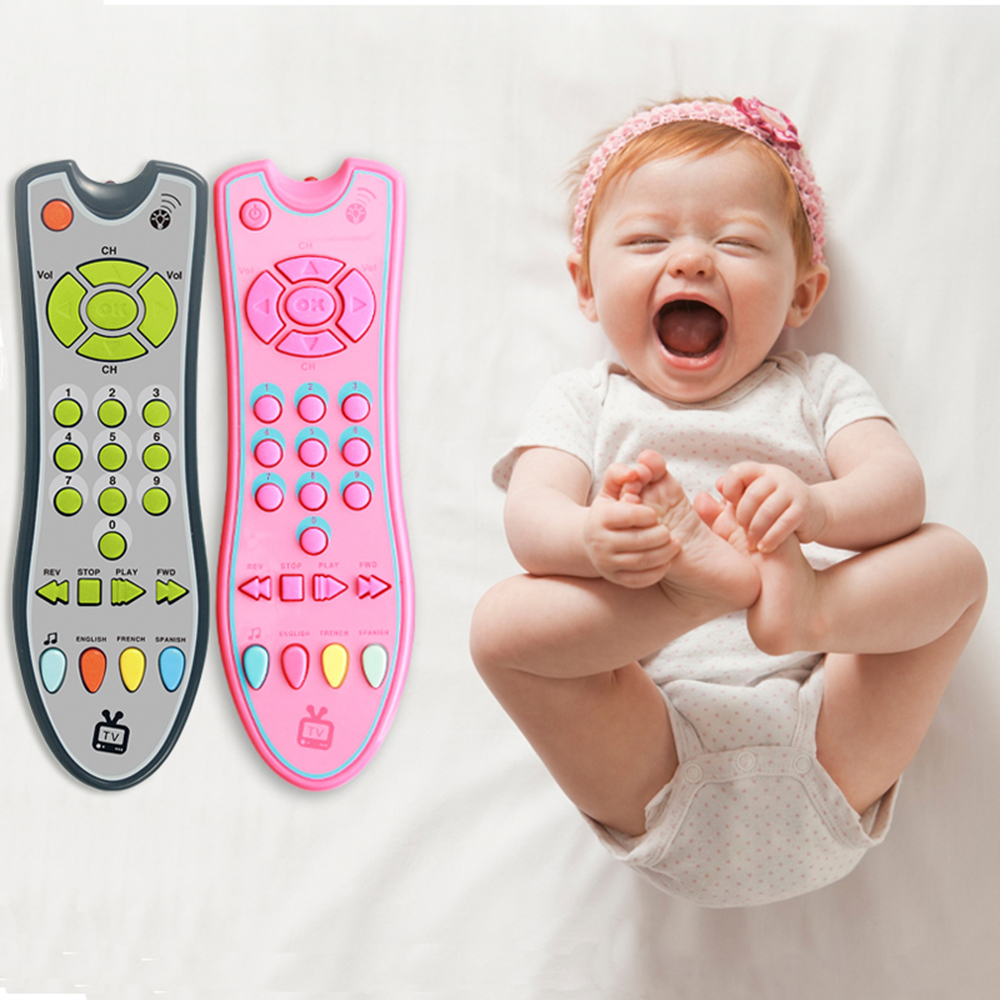 Baby Toys Music Smart Mobile Phone Remote Control Key Early Educational Toys Electric Numbers Learning Toy