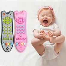 Детские музыкальные игрушки умный мобильный телефон пульт дистанционного управления ключ Ранние развивающие игрушки электрические цифры обучающая игрушка для младенца стоп плач