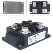 Silicon 300A Amp 1600V Volt Silicon Single Phase Diode Metal Case Bridge Rectifier Module Electronic Components Supplies