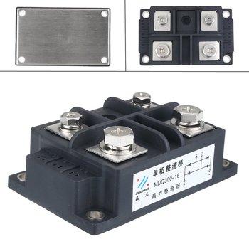 Silicon 300A Amp 1600V Volt Silicon jednofazowa dioda metalowa obudowa mostek prostownikowy zestaw komponentów elektronicznych tanie i dobre opinie TMOEC CN (pochodzenie) Other Mostek prostowniczy