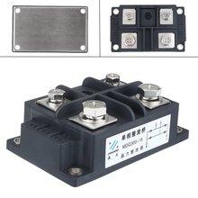 Silicone 300A Amp 1600 V Volt Del Silicone Monofase Diodo Raddrizzatore A Ponte Cassa del Metallo Modulo Componenti Elettronici Forniture