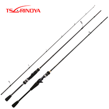 TSURINOYA Fishing Rods MYSTERY 1.82m/1.98m F Power Spining Sea bass Rod Long Casting Trout Rod FUJI Guide Rings