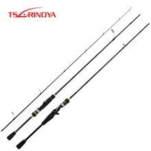 TSURINOYA для рыбалки стержни MYSTERY 1,82 м/1,98 м F мощный спиннинг морской окунь длинный кастинговый стержень FUJI направляющие кольца