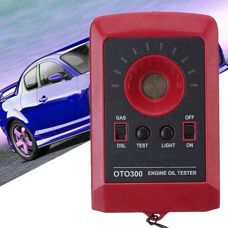 Gas Analysatoren ZuverläSsig 12 V Led Digital Automobil Auto Öl Qualität Tester Motor Motor Detektor Gas Diesel Analyzer Oto300 Auto Öl Qualität Tester