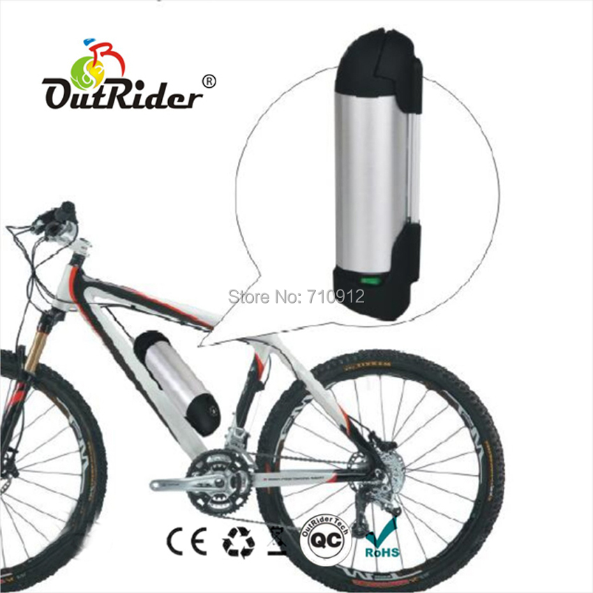 <font><b>24V</b></font> <font><b>8Ah</b></font> Kettle/Bottle Lithium <font><b>Battery</b></font> with 2A Charger CE, UL Approved, Easy <font><b>Electric</b></font> <font><b>Bike</b></font> DIY OR02A2 image
