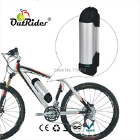 24V 8Ah Kettle/Bottle Lithium Battery with 2A Charger CE, UL Approved, Easy Electric Bike DIY OR02A2