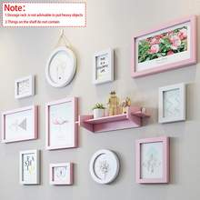 1 Set Modern Flamingo design Wall Frame Set Picture Display Wall Decoration Wall Hanging Photo Frame Set For Hallway Bedroom(China)