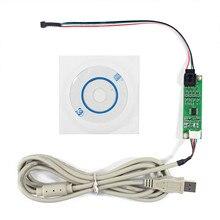 Panel táctil LCD resistivo de 4 cables controlador de puerto USB controlador de pantalla táctil