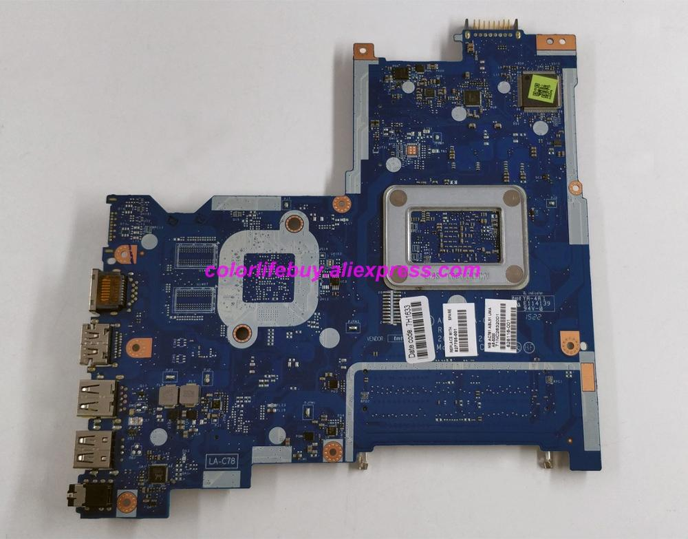 Image 2 - Genuine 827705 001 827705 501 827705 601 LA C781P UMA w A6 5200 CPU Laptop Motherboard for HP 15 AF Series 15Z AF000 NoteBook PC-in Laptop Motherboard from Computer & Office