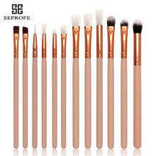 High quality 12 Pcs Blending Pencil Foundation Eye shadow Makeup Brushes Eyeshadow Eyeliner Brush